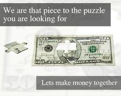 @RBOptions is that missing piece to your financial future you are looking for. Lets make money together.