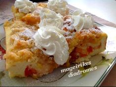 Käsekuchen με φρούτα Recipe Images, Mashed Potatoes, French Toast, Breakfast, Ethnic Recipes, Desserts, Food, Whipped Potatoes, Morning Coffee
