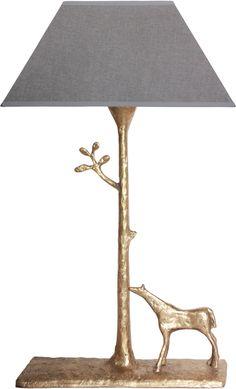 0363+-+Lampe+Cheval+-+Antique+Gold+-+Villa+Alys