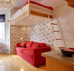 Se você for uma pessoa desapegada e não tiver muitos pertences, esse apartamento de 21 metros quadrados poderia ser uma boa opção de moradia. Localizado na Suécia (alguma dúvida?), é um dos menores…