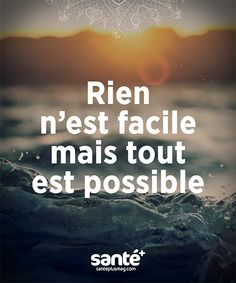 Tout est possible ! French Words, French Quotes, Time Quotes, Daily Quotes, Positive Attitude, Positive Vibes, Team Motivation, Daily Positive Affirmations, Motivational Quotes