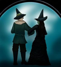 We can never go back to Oz... by ~elphaba-vs-glinda on deviantART