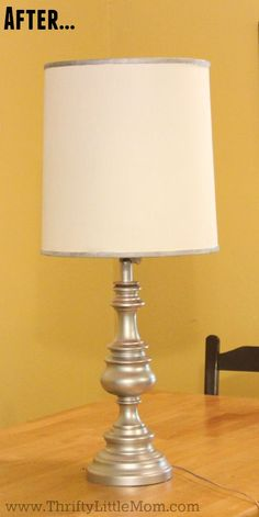 Attractive How To Spray Paint A Brass Lamp AFter