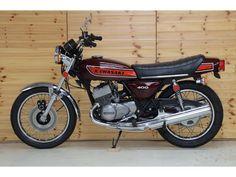 400 Custom Cycles, Custom Bikes, Kawasaki Bikes, Japanese Motorcycle, Good Times Roll, Old Bikes, Vintage Bikes, Motocross, Cars And Motorcycles
