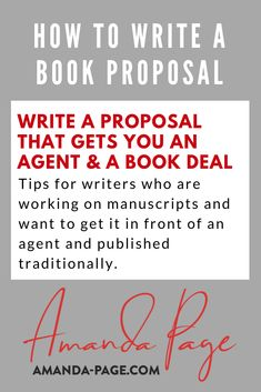 Tips on how to write a synopsis for your book how to organize a book proposal how to get an agent and how to approach traditional publishing. Book Proposal, Proposal Writing, Book Writing Tips, Writers Write, Nonfiction Books, Just Do It, Book Publishing, Organize, Traditional