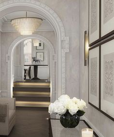 Complete renovation of a grade II listed apartment in a historically important landmark building in Mayfair. Under construction. Renovations, Apartment, London Apartment, Luxury London, Interior, Entrance Hall, Mayfair London, Mayfair London Apartments, Sophie Paterson Interiors