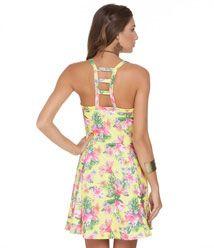 Vestidos Verão 2015: Vestido Floral e Renda - Lojas Renner