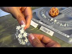 Beaded Flower Ball - Part 2