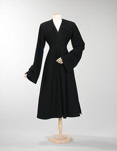 Coat Date: ca. 1930 Culture: American Medium: wool