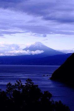 Mt. Fuji from Numazu, Shizuoka, Japan 富士山