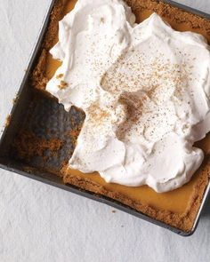Pumpkin Icebox Pie Thanksgiving Dessert Recipe