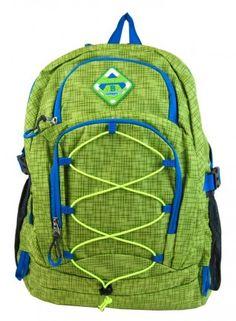 Velký batoh NEWBERRY do města   do školy HL0911 zelený - Kliknutím  zobrazíte detail obrázku. 63a11b5bd2