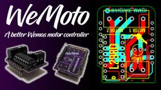 The WeMoto - A Better Wemos Motor Controller Raspberry Pi Computer, Raspberry Pi Projects, Security Equipment, Wireless Home Security Systems, Security Surveillance, Security Camera, Alarm System, Ip Camera, Boards