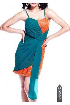 Drape dress by Ozel Studio