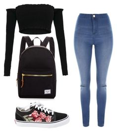 """""""Untitled #432"""" by outfits-by-jahan on Polyvore featuring Jane Norman, Vans and Herschel Supply Co."""