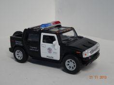 Carro colección Policía Hummer H2 Sut 2005. #RegalosParaEllos #RegalosNavidad2013
