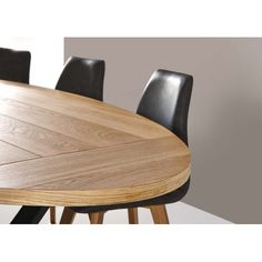 Table de salle à manger Cross ovale
