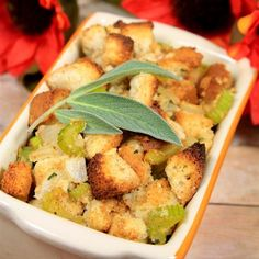 """Gluten Free Thanksgiving Stuffing   """"My husband loved it, and he's not the gluten-free one in the family."""""""