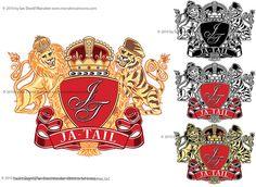 Ja-Tail Enterprises LLC Logo and Crest by Ian David Marsden, via Flickr