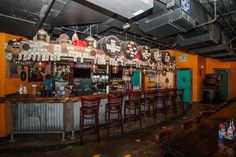 Bay View Party Room at Fudpuckers Okaloosa Island  ||  Private wedding and event venue space, catering, private bar