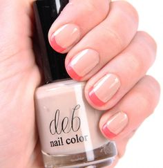 DIY Neon French Manicure DIY Nails Art