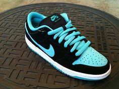 Nike SB Dunk Low – Black Clear Jade Nike Sb Trainers c949e05d27