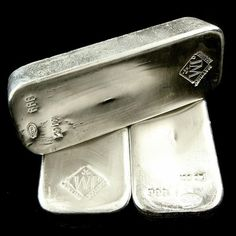 Beautiful 100 Ounce Johnson Matthey Silver Bars.  Buy them now at www.Silvercity.Co  419 873 5169