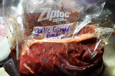 hey what's for dinner mom?: Crock Pot Garlic Ginger Beef Dinner-a Make Ahead Freezer Meal