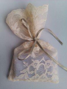 Lace Bag Party Favors Wedding Christening Baptism Bridal Shower Engagement Bachelorette Favor Bags