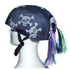 crazeeHeads Skullz N'Bones Helmet Cover | Wayfair