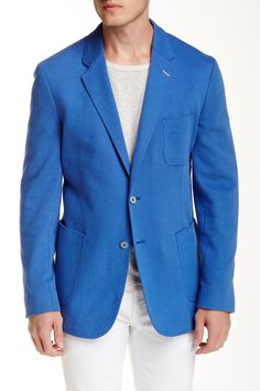Mr. M Woven Two Button Notch Lapel Sportcoat