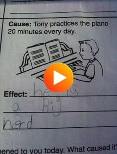 Genius! #funnyanimals #funnygifs Funny Exam Answers, Funny One Liners, Rockets For Kids, Funny Memes, Hilarious, Everyone Else, Funny Kids, Definitions, Clever