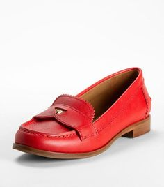 Red Penny Loafers, love!
