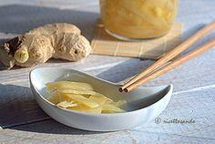 Gari, zenzero in agrodolce ricetta giapponese #ricetta di @luisellablog