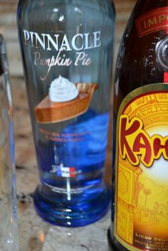 pumpkin pie vodka, kahlua, pinnacle vodka, pinnacle pumpkin pie vodka