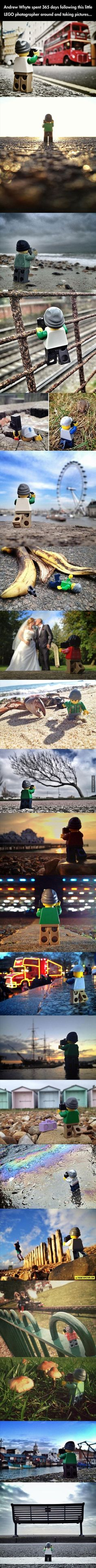 LEGO Photographer Travels The World - The Best Funny Pictures