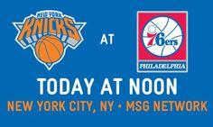 Philadelphia 76ers Vs New York knicks