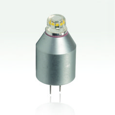 Dynasty G4 LED Bi-Pin - Available at ClaroLux Landscape Lighting.  Ideal for LED retrofits for pathway lighting.  Small compact LED that will fit into most any outdoor lighting fixture.
