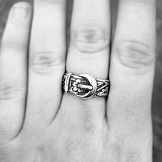 Flower Belt & Buckle Ring from James Avery Jewelry #JamesAvery