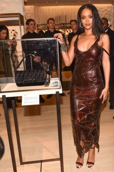 The best fashion after party attendee spottings at Rihanna at Fendi Rihanna Dress, Mode Rihanna, Best Of Rihanna, Rihanna Outfits, Rihanna Riri, Rihanna Style, Fashion Outfits, Looks Rihanna, Prabal Gurung