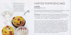 Hartige pompoen cupcakes * Rudolph van Veen *