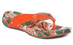 Rasteira Floral verão 2.013 Carmen Steffens #casualdenovamutum