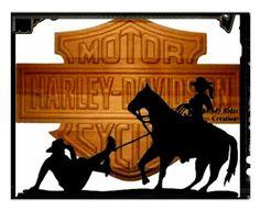 COWBOY HARLEY DAVIDSON