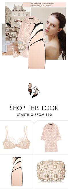 """""""To be in love is to surpass one's self. O. Wilde"""" by hil4ry ❤ liked on Polyvore featuring KEEP ME, Agent Provocateur, Roland Mouret, Narciso Rodriguez, ALDO and Chanel"""