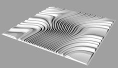 3D reliefs for CNC machining