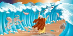Bible Story Murals - Moses Parts the Red Sea