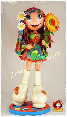 Hippy con vestido