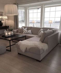 Ridiculous Tips: Living Room Remodel Ideas Diy living room remodel with fireplace mantles.Living Room Remodel With Fireplace Products living room remodel on a budget how to make.Living Room Remodel Before And After Dream Homes. Living Room Sectional, Living Room Grey, Living Room Modern, Rugs In Living Room, Living Room Designs, Living Room Decor, Lounge Couch, Small Living, Grey Sectional