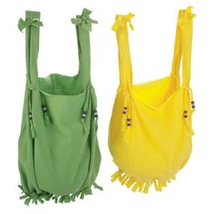 Funky Fringes T-shirt Tote Sewing Instructions