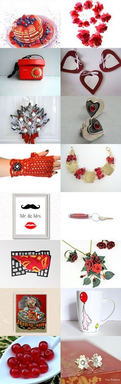 More Red by Laura P. on Etsy--Pinned with TreasuryPin.com